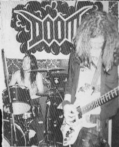 Doom are an English crust punk band from Birmingham, England, whose first, influential lineup were together from 1987 to 1990. Despite its short existence, the band is considered pivotal in the rise of crust punk, a style within the punk rock subgenre that fuses extreme metal with anarcho-punk.