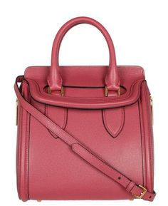 Notes Woven grain small Heroine bag trimmed with grainy patent leather; structured silhouette bui...
