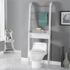 Beau Bathroom Space Saver In White