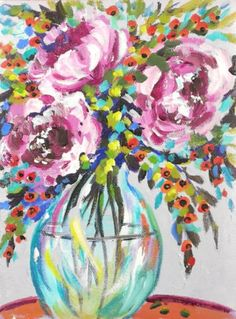 Skill Level: 1 Cookie | Subject: Flowers and Vase Category: Abstract and Floral | Tags: flowers and vase In this lesson, you will learn how to... Take a painting of realistic flowers and turn it into an abstract colorful painting. Click the image to enlarge. Scroll down for lesson. This lesson is 0:58:00 in length. …