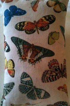 Butterfly Fabric Lavender Bag - Handmade