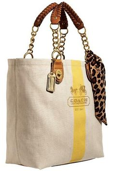 Coach Resort Beach Tote - Purses, Designer Handbags and Reviews at The Purse Page