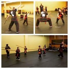 #Swords, #kali sticks and #staffs. #Kids love learning how to use #martialarts #weapons. #learnsomethingnew #selfdefense #lamapai #choylayfut #confidence #chinesemartialarts #fitness #farmingdale #longisland #newyork #karate #kungfu #wushu #chinesetradition #blackbeltattitude