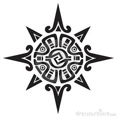 mayan/incan sun tattoo.    Cool but too big-