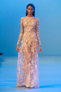 Elie Saab Haute Couture Fashion Week Spring 2014 | POPSUGAR Fashion