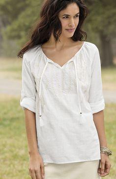 39 Best Cotton Images Peasant Blouse Blouses Shirts