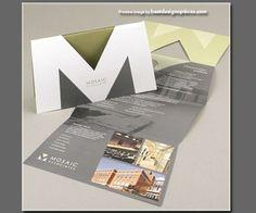 brochure die cut