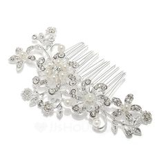 Gorgeous Rhinestone/Alloy Combs & Barrettes (042055852) - JJsHouse