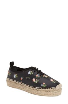 Saint Laurent Espadrille Sneaker (Women) available at #Nordstrom
