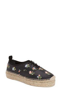 Saint Laurent Espadrille Sneaker (Women) available at #Nordstrom