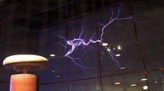 sacred geometry/lightning   The World's Biggest Tesla Coil Goes Live in Arkansas (Video) «