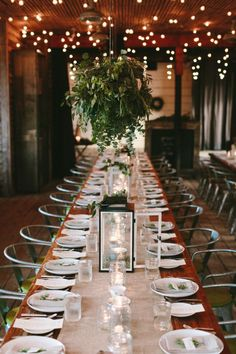 Rustic wedding table: http://www.stylemepretty.com/2014/10/07/modern-terrain-glen-mills-wedding/ | Photography: The More We See - http://www.themorewesee.com/