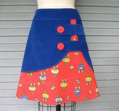 Flight Of The Bumblebee double layer skirt Sz 8 by LoveToLoveYou