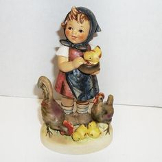 1948 MI Hummel Feeding Time Figurine 199/0