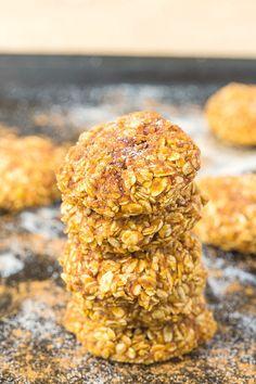 Gesunde Vier Zutaten Apfelmus die Plätzchen weich und zäh Cookies, die nur 4 Zutaten-einen leckeren Snack Rezept, Minuten dauert brauchen!  {glutenfrei, vegan, raffinierten Zucker freie} - thebigmansworld.com