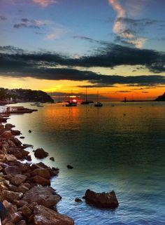 port d`andratx sunset