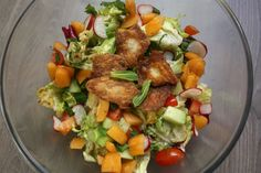 Fattoush Salad with