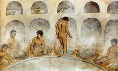 COSAS CURIOSAS - CURIOSIDADES DEL MUNDO - UN BLOG PARA CURIOSOS: ¿Cómo se bañaban en la antigüedad? http://cazacuriososelblog.blogspot.com.es/2014/07/como-se-banaban-en-la-antiguedad.html