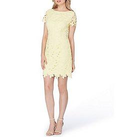 3187096b7c8 Tahari ASL Petite Lace Sheath Dress Dress For Petite Women