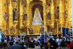 Lasse Persson - Sunday Mass in the church Ermita del Rocio in the small village El Rocio in Andalucia, Spain