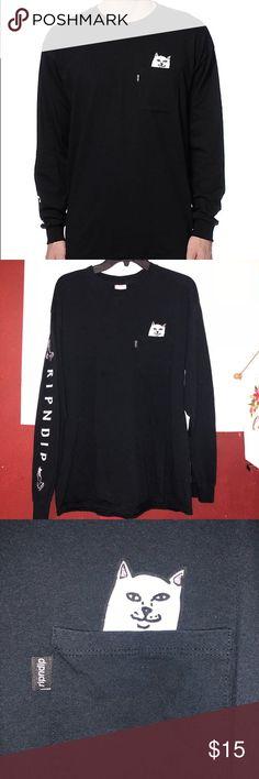 Large rip n dip cat f-u shirt unisex ebddeb748e97