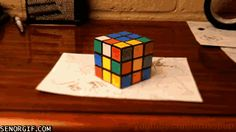 Just a Rubicks-Cube Waiting to Be Completed