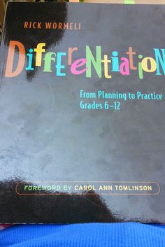 Differentiating in the Middle and High School Classroom