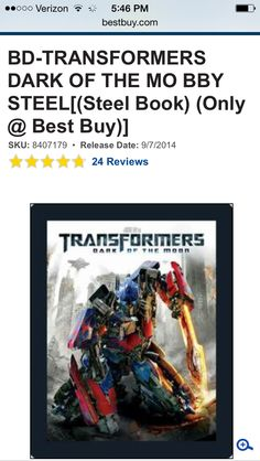 Blu Ray steel book