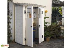 Armoire Jardin Bois Simia 90x58x204 | ABRI et RANGEMENT | Pinterest ...