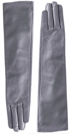 Long gants en cuir gris 3Suisses