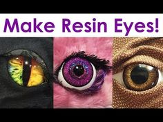 How to Make Resin Cabochon Eyeballs for Evil Eye Jewelry Making and Other Crafts ~ The Beading Gem's Journal