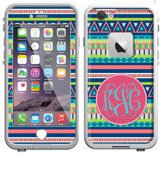 47ef5ac9dd83 Aztec Custom LifeProof iPhone 6 Skin