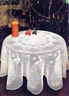 Oi amigos visitantes e seguidores hoje venho postar pra vocês essas duas toalhas em crochê filé uma com motivos em pavão e outra com motivo...