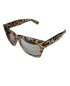 Vintage Sunglasses with Leopard Frame