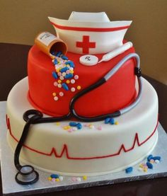 Best nursing graduation cakes photos.PNG