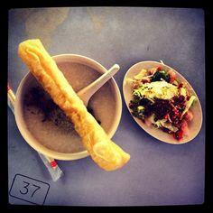 """@ngjiaxun's photo: """"Raw fish with porridge S$3.50 #01-32 #foodporn #foodpwn"""""""