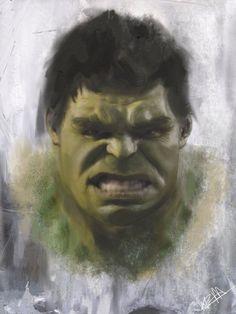 #Hulk #Fan #Art. (Hulk) By: Boss1688. (The * 5 * STAR * AWARD * OF * ÅWESOMENESS!!!™)