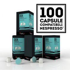 100 CAPSULE CAFFÈ COMPATIBILI NESPRESSO®* - Qualità DEK - CAFFÈ COSMAI