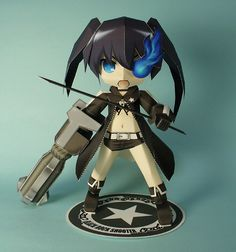 3D Rock Shooter Chibi