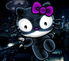 Hello kitty as cat woman