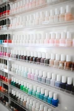 NYC's Best Nail Salons #refinery29  http://www.refinery29.com/nyc-best-nail-salons#slide3  Best Cheap Thrill: Yo Yo Spa Got 20 bucks? Then march yourself into this little Chelsea spot, and you'll leave with neat, clean, shiny nails. (Did we mention that it's $20 for both a manicure and pedicure?) Expect a tidy environment, efficient service, and polishes from essie and OPI — and, perhaps surprisingly at this price, massage chairs, too. In a town that can seem hell-bent on price-gouging ...