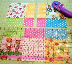 Disappearing Nine Patch Quilt Block Tutorial