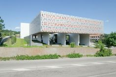 italian studio hoflab have completed the headquarters of 'the unified building institutions' of the province of perugia in italy. Perugia Italy, Green Building, Urban Design, Architecture Details, Brick, Construction, Gallery, Outdoor Decor, Modern