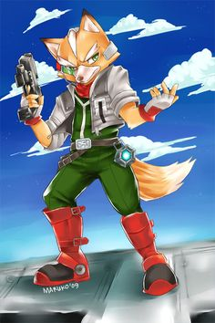 FOX MCCLOUD by nyaruko.deviantart.com on @deviantART