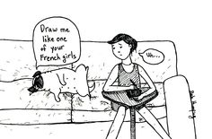 If you've ever wondered what it's like when I draw...