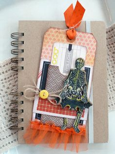 Noted: Boo Tag - Tim Holtz, Retro Halloween set