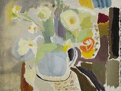 "Ivon Hitchens (1893-1979), ""Flowers in a Blue Jug"", 1935."