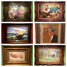 Manet, Degas, Sorolla, Pissarro , Pettoruti, Renoir y muchos mas en el museo National de Bellas de Buenos Aires - Argentina