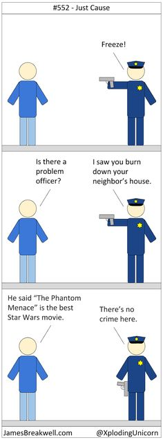Just Cause ~ James Breakwell's Unbelievably Bad Webcomic