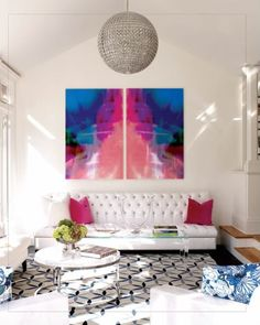 bright abstract paintings